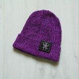 Яркая шапка для девочки. Можно на взрослого. H&M. Размер 8-12 лет. Состояние идеальное