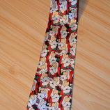 Рождественский галстук с сантой