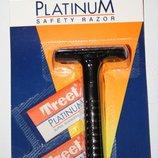 Классический станок для бритья Treet Platinum 2 лезвия