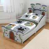 KidKraft Детская кроватка Замок для мальчика Princess Toddler Bedroom Bundle 76279
