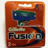Картридж Gillette Fusion лезвия 2 шт