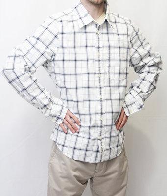 Мужская стильная рубашка в клетку New York