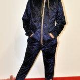 Модный велюровый костюм на девочку рост 98,104