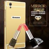 Чехол бампер для Lenovo P70 зеркало