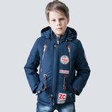 Демисезонная куртка на мальчика рост 128 - 152 см