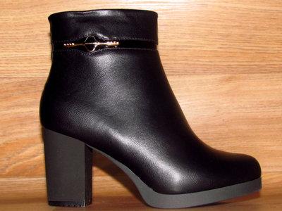 74b878954 Распродажа. Красивые ботинки на каблуке: 520 грн - женские ботинки в ...