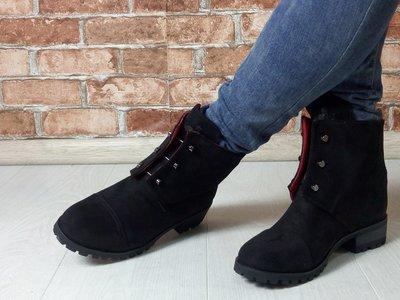 48d6c700a Женские замшевые ботинки Hermes болты: 800 грн - женские ботинки ...