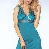 Женственная бирюзовая сорочка Veronica от Livia Corsetti Польша