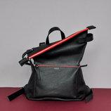 Скидка -15% кожаный городской рюкзак для стильных девушек и парней