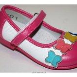 Новогодние детские туфли-балетки для девочки на утренник 21 22р. мал размеры