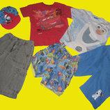 Пакет вещей на мальчика 5-6лет,рост 110-116 см,Disney