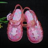 Силиконовые сандалии Peppa Pig 21р,ст 13,5см.Мега выбор обуви и одежды