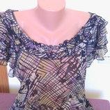 Шифоновая блуза для пышной красоты можно для беременных