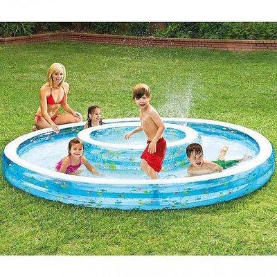 Детский Бассейн С Фонтаном 57143