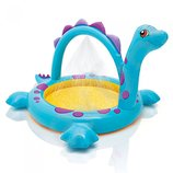Детский Бассейн С Душем «Динозаврик» 57437