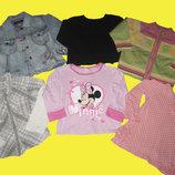 Пакет теплых вещей на девочку 3-4 года,рост 104 см,Disney