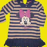 Теплое платье с Минни-Маусом на 2-3 года,рост 92 см,Disney