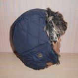 Новая теплая зимняя шапка ушанка Next, 11-13 лет, оригинал
