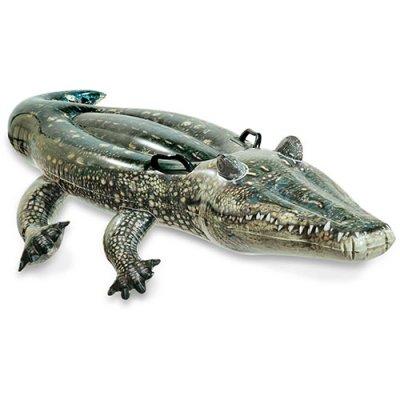 Надувной Плотик Настоящий Аллигатор 57551