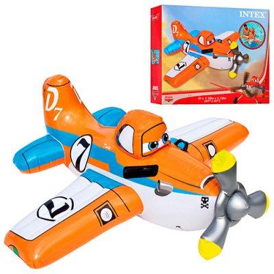 Детский плотик 57532 самолет, Planes, 119-119 см.