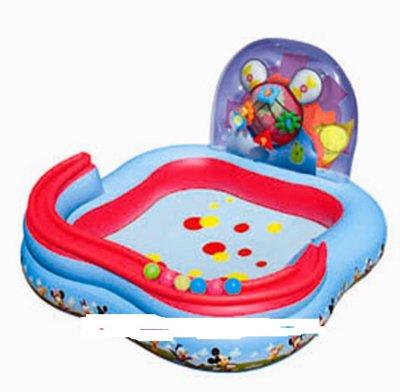 Игровой центр-бассейн Mickey Mouse 4 кольца, 6 шаров , от 3 лет