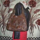 Фірмова шкіряна сумочка Marks&Spencer collection Genuine leather, Індія.