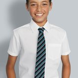 Фирменная рубашка F&F на 12-13 лет рост 158см. с коротким рукавом.
