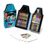 Crayola набор для детского творчества синий карандаш 40 предметов Tip Tool Kit Turquoise 40Art
