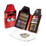 Crayola набор для детского творчества красный карандаш 40 предметов Tip Tool Kit Scarlet 40Art