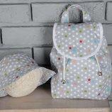 Детский рюкзак, ранец, портфель звезды