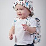 Детский рюкзак, ранец, портфель рыбки