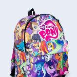 Молодежный яркий детский рюкзак My Little Pony