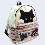 Классный молодежный детский 3D-рюкзак What's up