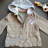 Крутая куртка жакет коттон 82р новая сток