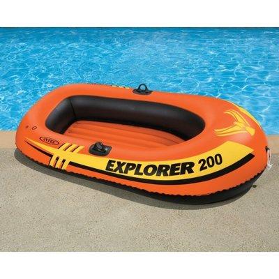 Двухместная Лодка INTEX 58356 EXPLORER PRO 200