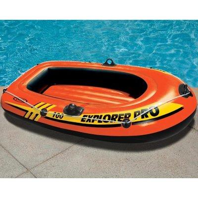 Надувная одноместная лодка intex 58355 Explorer 100 Pro
