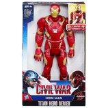 Marvel Titan Hero Series Iron Man Electronic Figure Железный человек говорящий Супергерои
