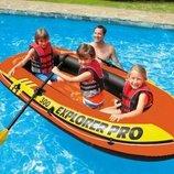 Надувная Лодка INTEX 58358 EXPLORER PRO 300 244-117-34 См.