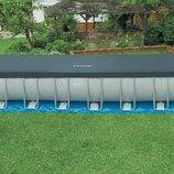 Бассейн каркасный 975х488х132 см. 28376 полный комплект набор для чистки