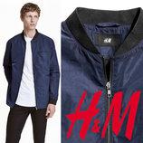 Легкая демисезонная куртка для мужчин XS, S, M, L, XL фирмы H&M Швеция