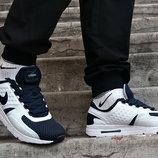 Кроссовки демисезонные Nike Air Max Zero синие с белым.