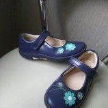Кожаные туфли Clarks,кожа стелька 16,8см