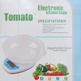 Кухонные весы Qz-129 до 5кг с чашей и подсветкой
