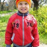 Куртка деми на 3-5 лет