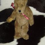 шикарная мягкая игрушка шарнирный мишенька Boyds Сша оригинал 26 см