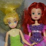 Лот кукол.Disney Кукла коллекционная фея дисней по типу Барби динь динь куколка