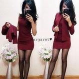 Костюм платье жакет