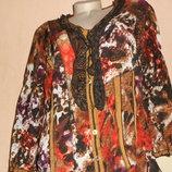 Красивая блузка жатка, 50 размер, новая, сток с Германии.