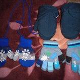 Рукавички, перчатки, краги на 2-3 года