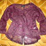 Кофточка свитерок оверсайз Gina р. 40, р.42 новые
